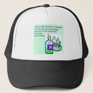 Chemie kleiner Willie-Reim Truckerkappe