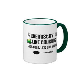 Chemie-Kochen Ringer Tasse