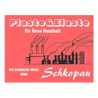 Chemie Werbedesign DDR Postkarten