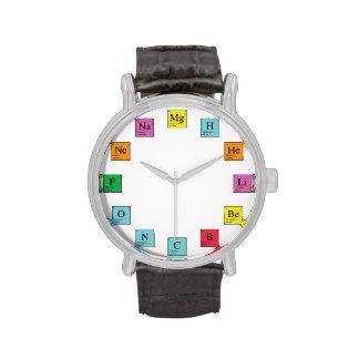 Chemie-Zeit Uhr