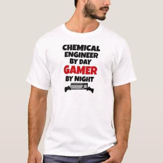 Chemieingenieur durch TagesGamer bis zum Nacht T-Shirt