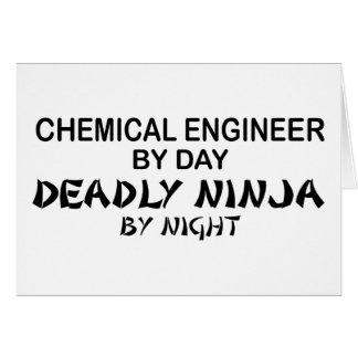 Chemieingenieur tödliches Ninja bis zum Nacht Karte