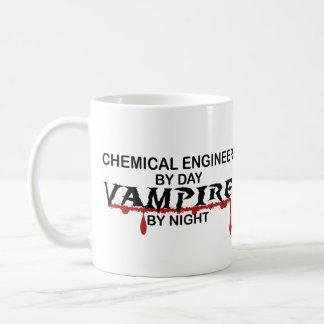 Chemieingenieur-Vampir bis zum Nacht Kaffeetasse
