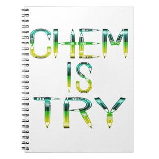 Chemienotizbuchbleistift Spiral Notizblock