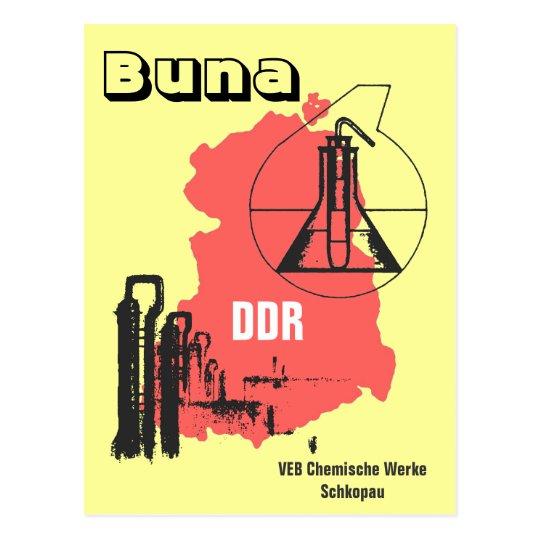Chemiereklamedesign DDR Postkarte