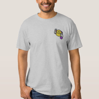 Chemiker Besticktes T-Shirt