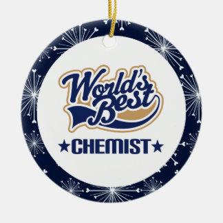 Chemiker-Geschenk-Verzierung Rundes Keramik Ornament