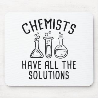 Chemiker haben alle Lösungen Mousepad