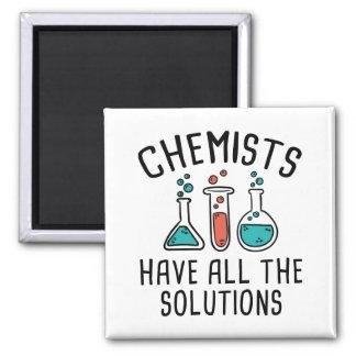 Chemiker haben alle Lösungen Quadratischer Magnet