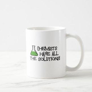 Chemiker haben alle Lösungen Teehaferl