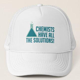 Chemiker haben alle Lösungen Truckerkappe