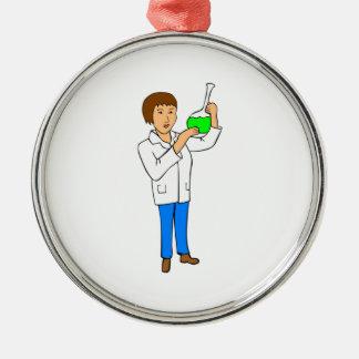 Chemiker Weinachtsornamente