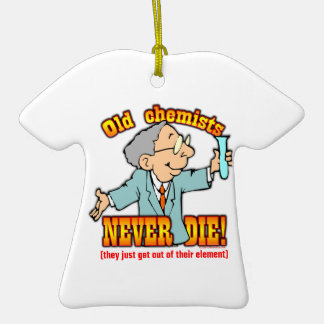Chemiker Ornamente