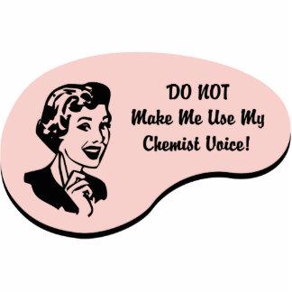 Chemiker-Stimme Photofiguren