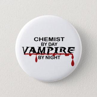 Chemiker-Vampir bis zum Nacht Runder Button 5,1 Cm