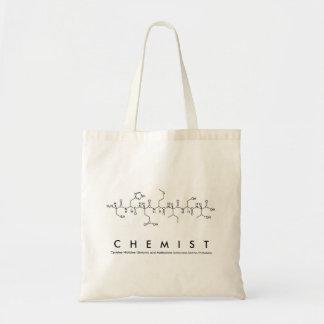 Chemikerpeptid-Namentasche Tragetasche