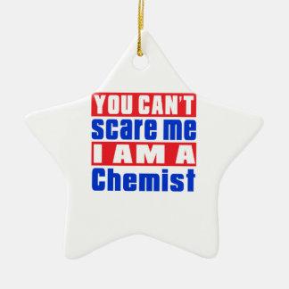 Chemikerschreckensentwürfe Keramik Stern-Ornament
