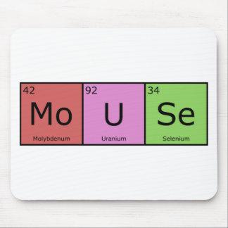 Chemische Element-Mäusematte Mauspads