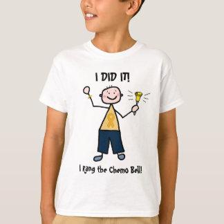 Chemo Bell - Kindheits-Krebs-Goldband T-Shirt