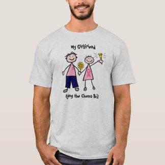 Chemo Bell - rosa Band-Brustkrebs T-Shirt