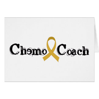 Chemo Zug - Kindheits-Krebs-Goldband Karte