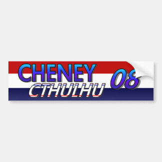 Cheney Cthulhu 08 Aufkleber Autoaufkleber