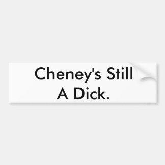 Cheneys noch ein Dick Autoaufkleber