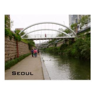 Cheonggye Strom Postkarte