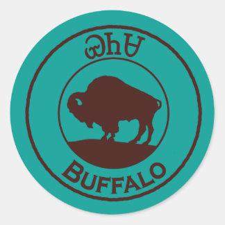 Cherokee Büffel - Yanasa Aufkleber