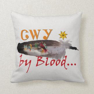 Cherokee durch Blut Kissen