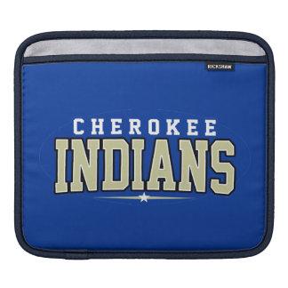 Cherokee Highschool; Amerikanischer Ureinwohner Sleeves Für iPads