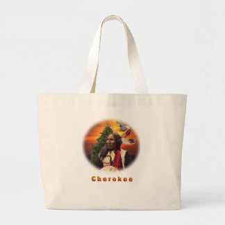 Cherokee Inder Jumbo Stoffbeutel