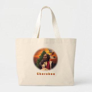 Cherokee indische Kunst Jumbo Stoffbeutel