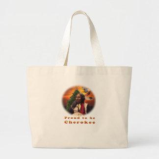 Cherokee indische Produkte Jumbo Stoffbeutel