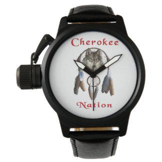 Cherokee Nationskleidung Uhr