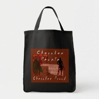 Cherokee stolzes tragetasche