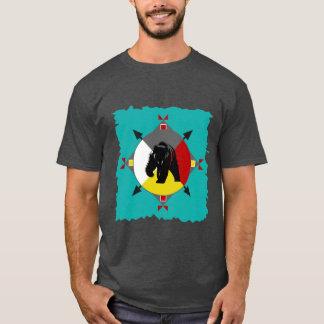 Cherokee vier Richtungs-Bärn-T - Shirt