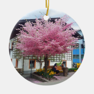 cherry bare OM austria Keramik Ornament