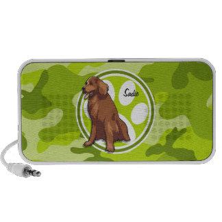 Chesapeake Bay-Retriever grüne Camouflage Mobiler Speaker