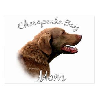Chesapeake Bay-Retriever-Mamma 2 Postkarte