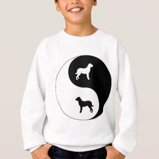 Chesapeake Bay-Retriever Yin Yang Sweatshirt