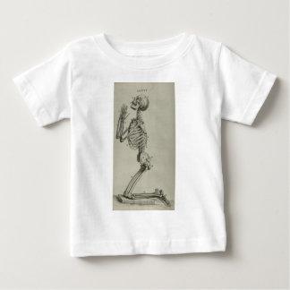 cheseldenprayingskeleton baby t-shirt