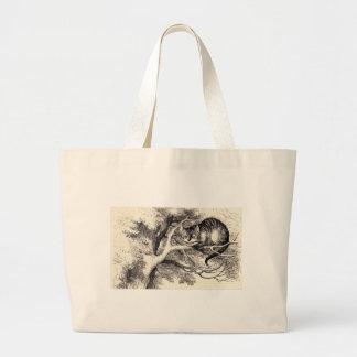 Cheshire-Katze Jumbo Stoffbeutel