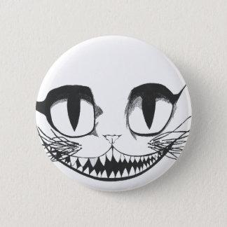 Cheshire-Katze Runder Button 5,7 Cm