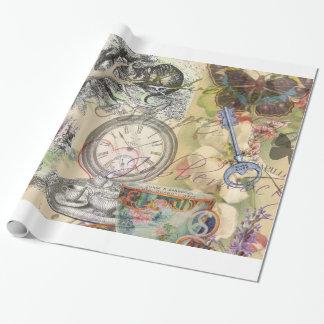 Cheshire-Katzen-Alice im Wunderland Geschenkpapier