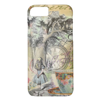Cheshire-Katzen-Alice im Wunderland iPhone 8/7 Hülle