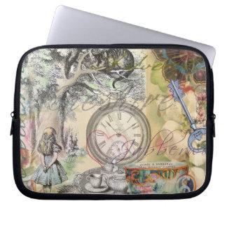 Cheshire-Katzen-Alice im Wunderland Computer Sleeve Schutzhüllen