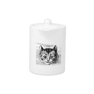 Cheshire-Katzen-Gesicht