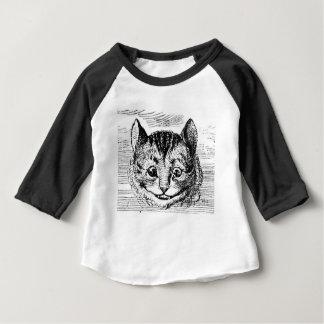 Cheshire-Katzen-Gesicht Baby T-shirt