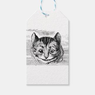 Cheshire-Katzen-Gesicht Geschenkanhänger